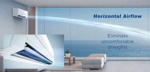 Horizontal Airflow - Uncomfortable Draughts
