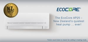The Mitsubishi Electric Ecocore unit